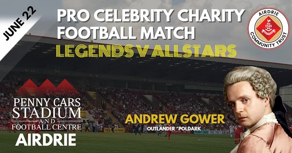 Airdrie Celebrity Football