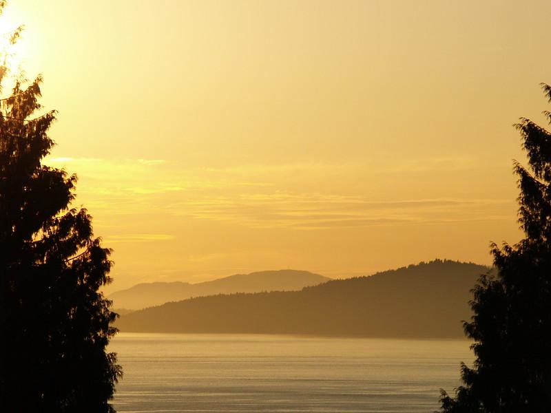 Late July sunset (2009)