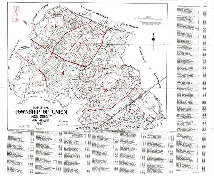 1937 Map
