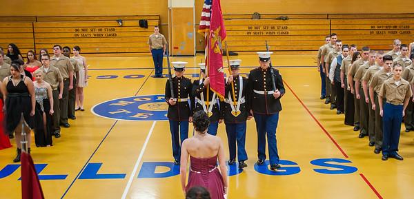 Jr ROTC Change of Command 2016