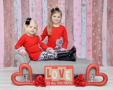 Madison & Scarlet Valentine's Day 2020