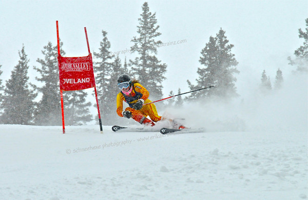 2-1-13 CHSAA GS at Loveland - Ladies Run #2