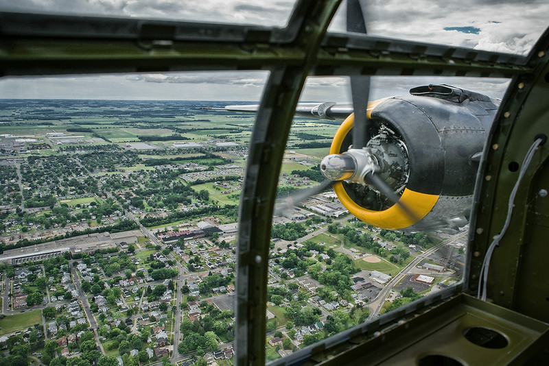 View from  B-25