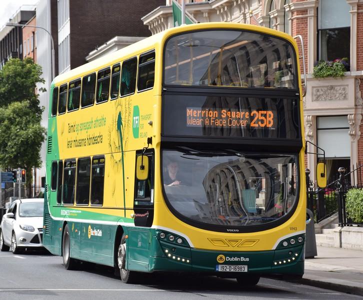 VH3 St Stephen's Green 29 July 2021