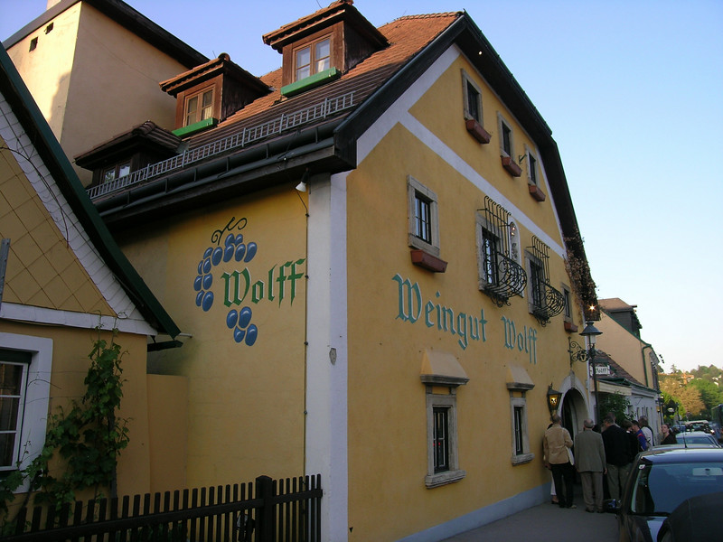 "My final night in Vienna - a night out at the ""Wiengut Wolff,"" and the Wiener Heurigen Show at the Wine Tavern Wolff"
