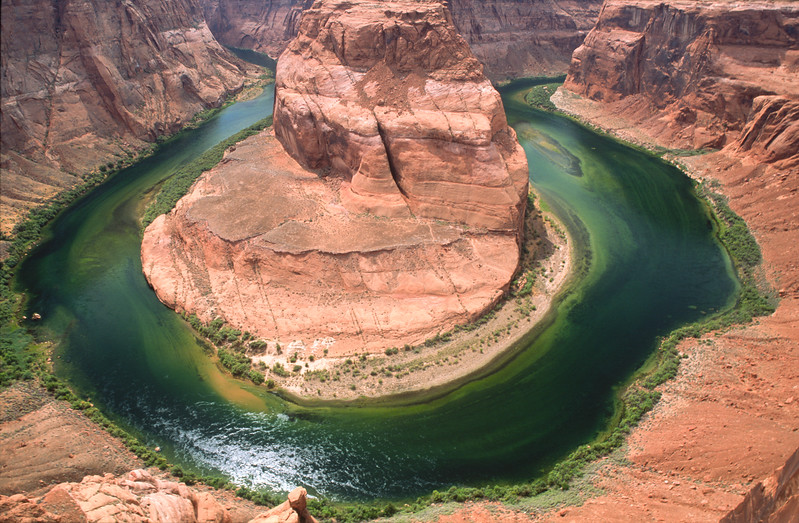 Horseshoe Bend on the Colorado River, Arizona