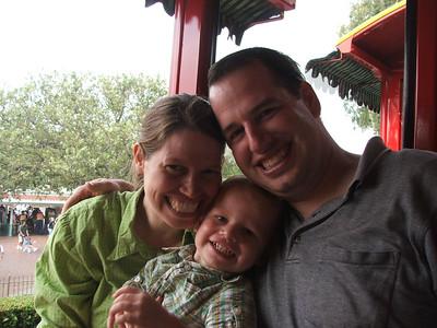 June 25-26 2007 with Sarah, Grandma, and the boys