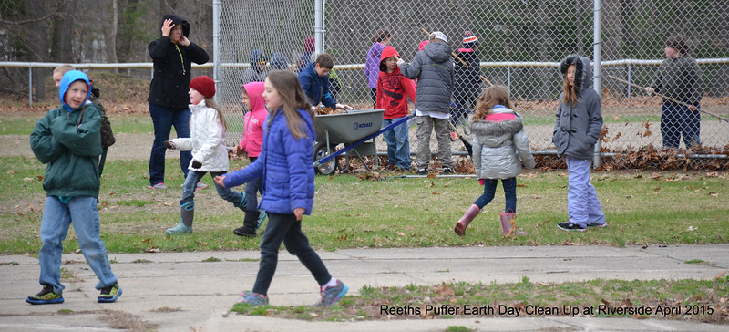 Reeths Puffer Earth Day Clean-Up at Riverside Park April 22, 2015