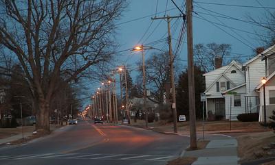 whitehall road, morning twilight