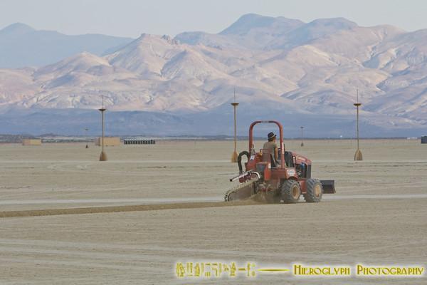 Building Burning Man