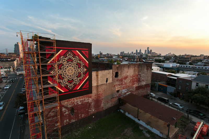 Lotus Diamond by Shepard Fairey. Philadelphia, PA