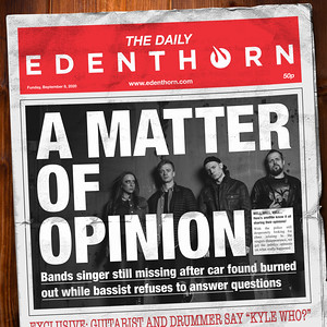 Edenthorn To Release New Single On 16th October 2020