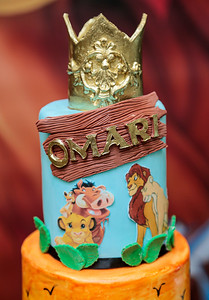 OMARI'S FIRST BIRTHDAY PARTY
