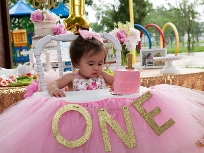 Jolie turns 1