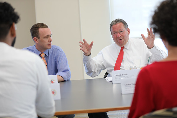 Comcast NBCUniversal Leadership Award Winners Roundtable with David Cohen