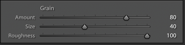 Extreme Roughness Setting in the Effects Panel