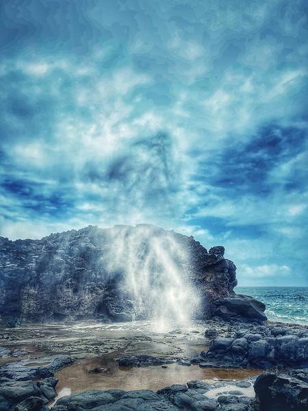 Nakalele Blowhole on Maui