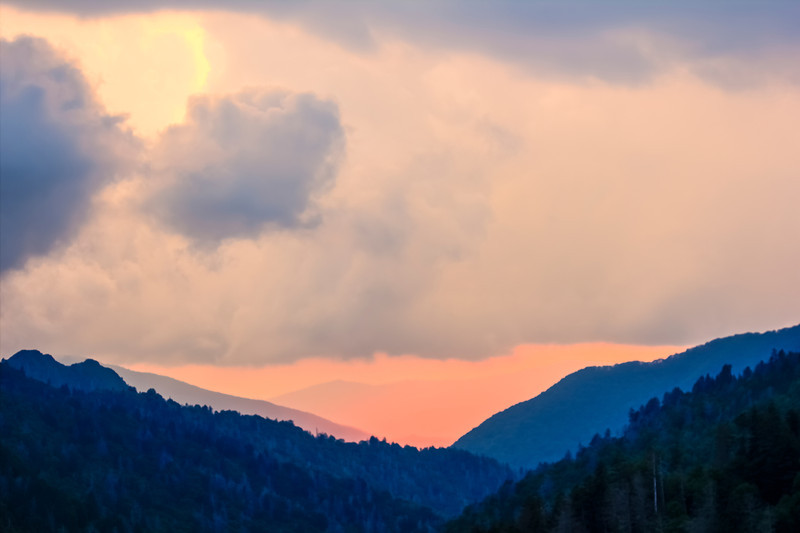 Colorful Color Tones of the Great Smoky Mountains
