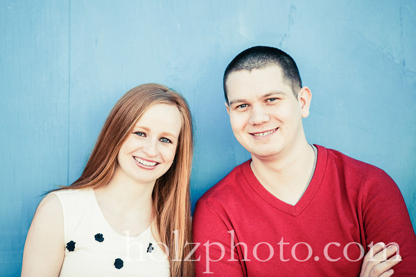 Lauren & Andrew Creative Engagement Photos