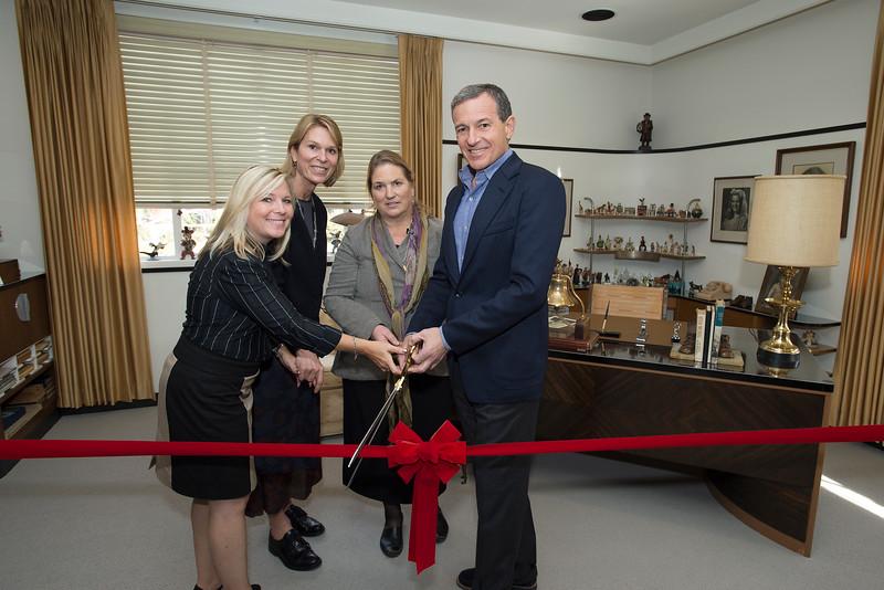 Walt Disney's Office restored as permanent exhibit at the Walt Disney Studios