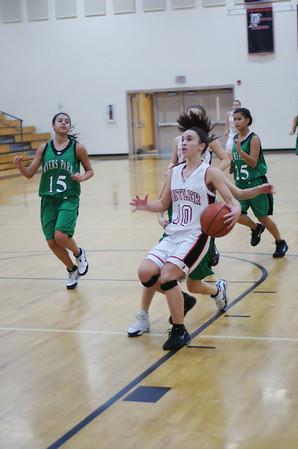 2009/12/10 BHS Girls JV Basketball - Butler VS Myers Park