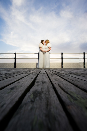 Caz & Aimi's Wedding - Worthing Pier