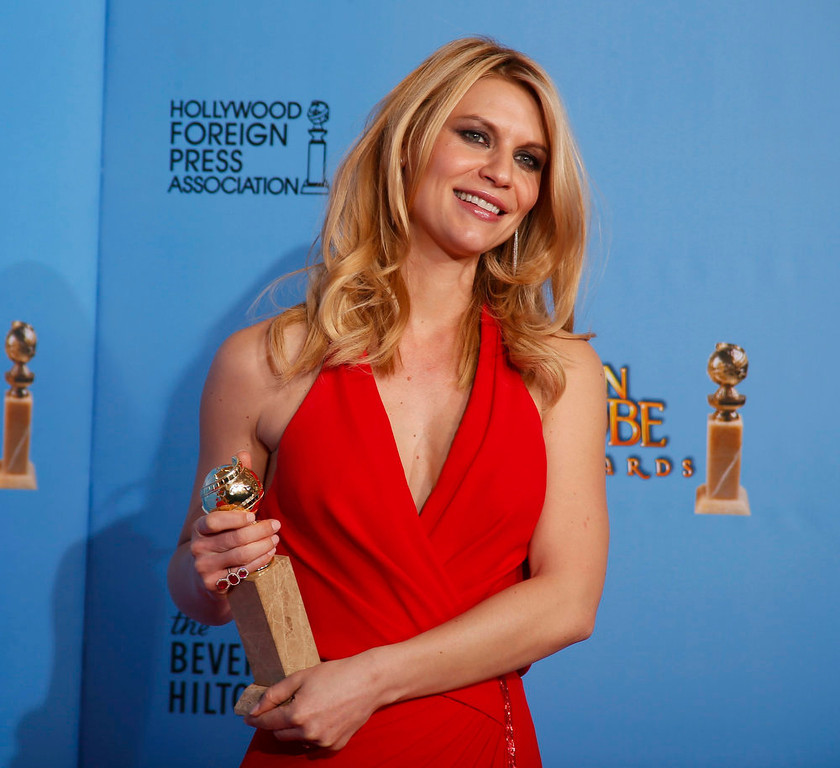 . Best Actress in a Television Series - Drama: Claire Danes, Homeland