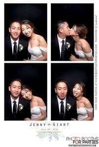 Giant and Jenny's Wedding