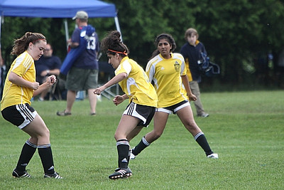U17 Girls Clifton Park Sundevils vs Essex United