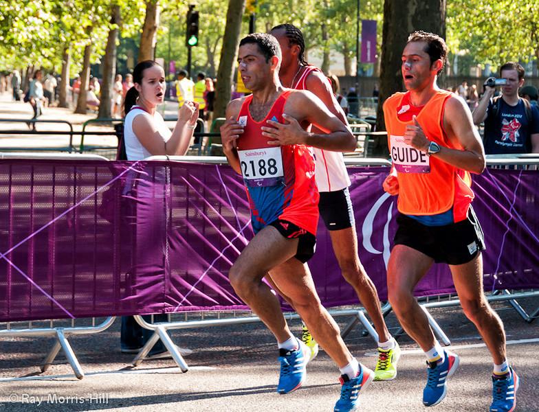 Serna Moreno wins Silver in the Men's Marathon T12