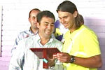 Member of Honour of the Mallorca Tennis Club in Palma (31jul06)