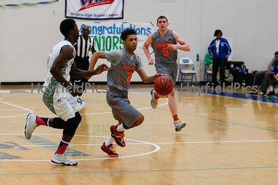 Boys Varsity Basketball v South Lakes 2/6/15