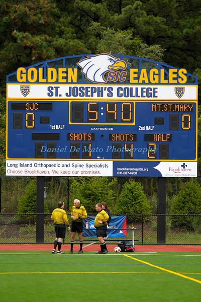 St. Joseph's Women's Soccer vs MSM 9-29-12