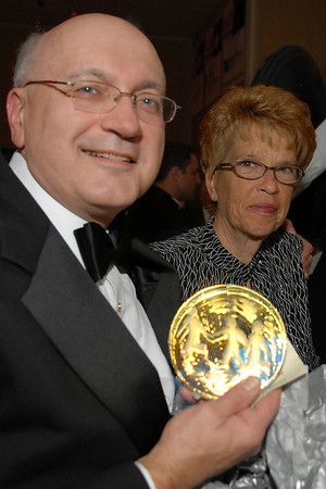 Frank Williams receives John Walsh Award, 11/10/07