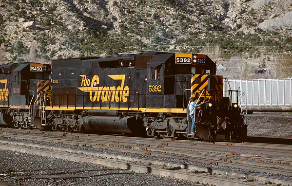Railroads of Utah - 2000