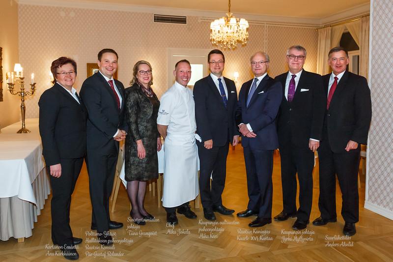 Ruotsin Kuninkaan vierailu