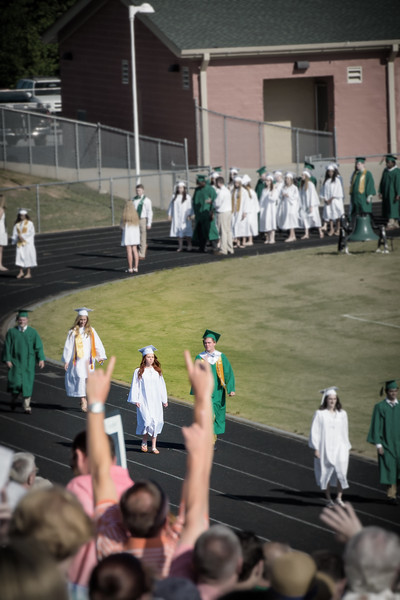 Cassie High School Graduation