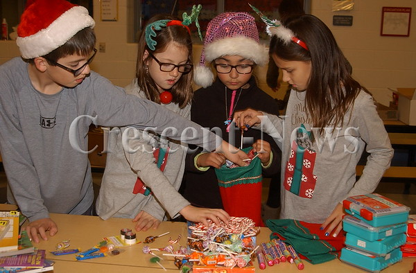 11-28-16 NEWS Defiance Elementary Stockings for Soldiers