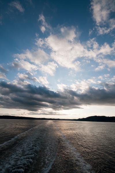 More pretty sky on Puget Sound.