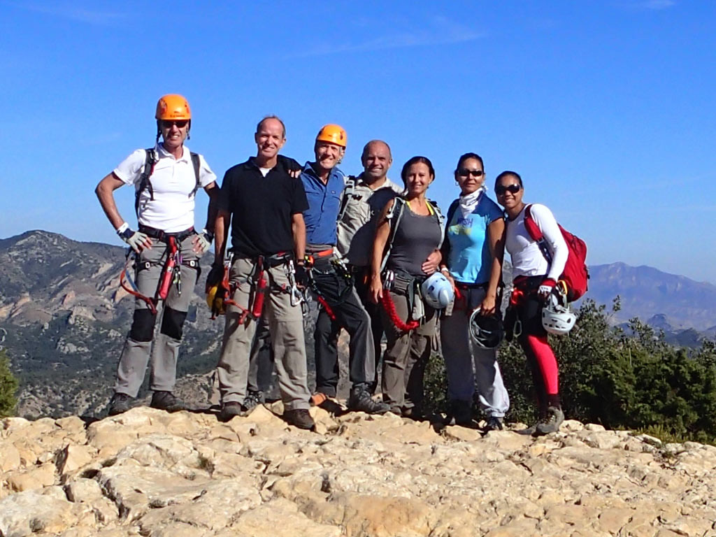 Completion of the Via Ferrata del Castillo de Salvatierra
