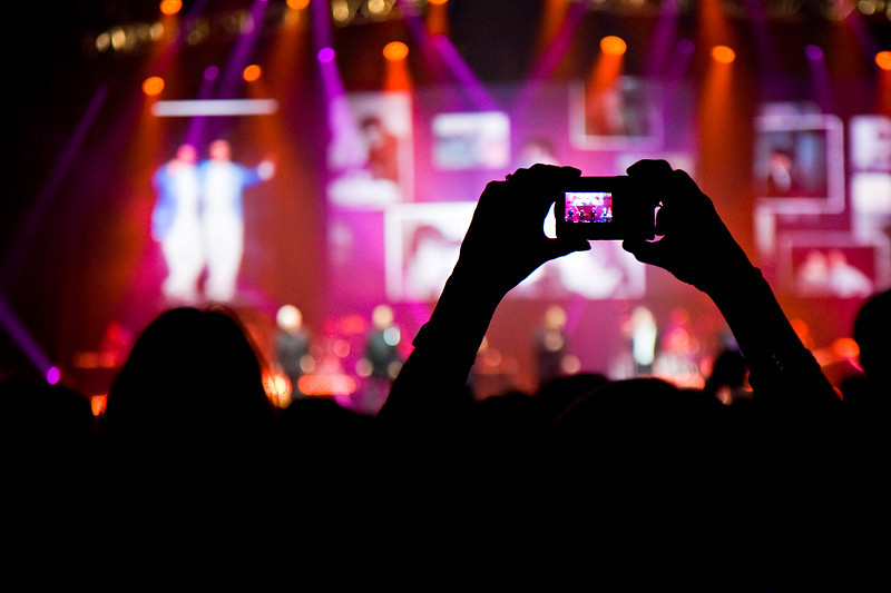 Getting the Shot - Concert Style