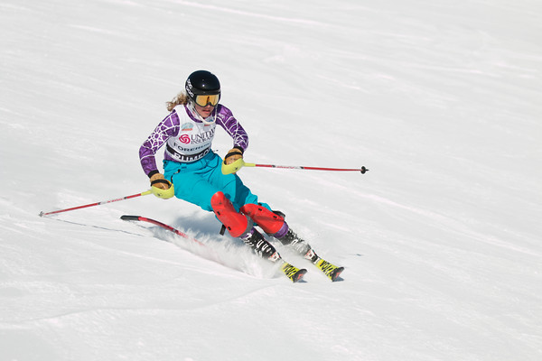 Girls Slalom 1st Run