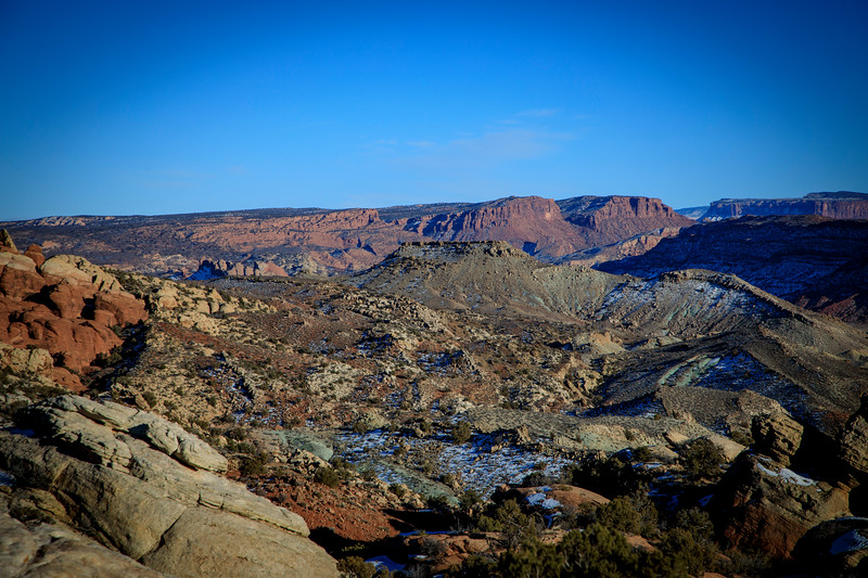 View from Firery Furnace trail in Arches NP
