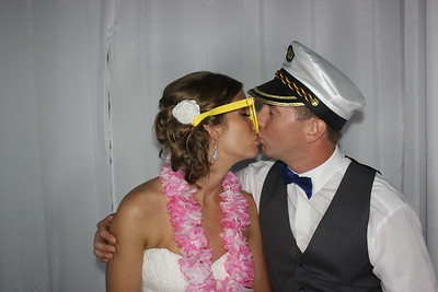 Hannah and Daniel's Beach Photo Booth