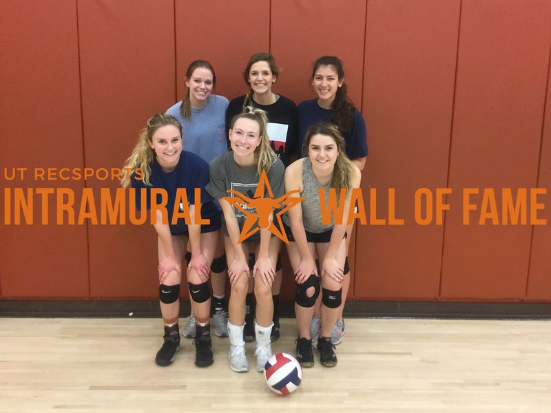 Fall 2017 Volleyball Women's A Runner Up DG
