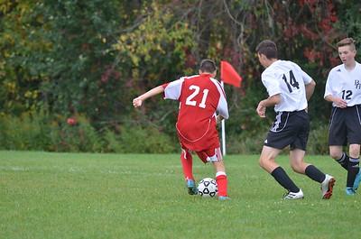 BJV Soccer vs Bellville 10-2-19