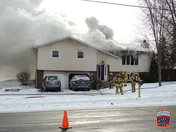 House fire on December 29, 2017