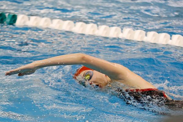 2016 NLC girls swimming prelims