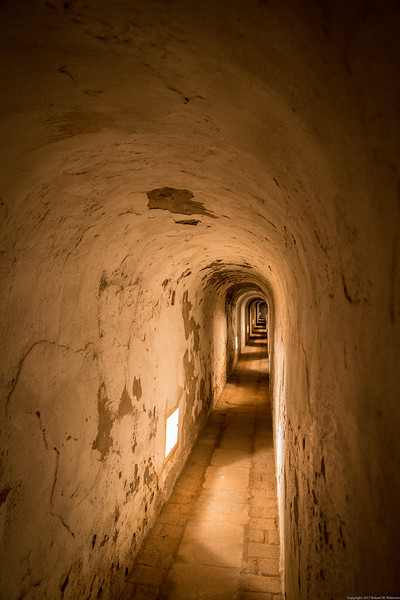 Soldier's Passageway in the Terezín Small Fortress