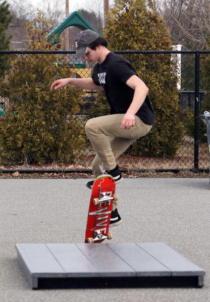 Billerica Skate Park warm day 030320